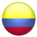 128x128px size png icon of Colombia Flag