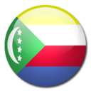 128x128px size png icon of Comoros Flag