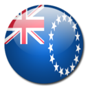 128x128px size png icon of Cook Islands Flag