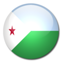 128x128px size png icon of Djibouti Flag