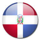 Dominican Republic Flag Icon