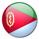 128x128px size png icon of Eritrea Flag