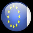 128x128px size png icon of European Union Flag