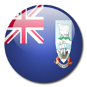 128x128px size png icon of Falkland Islands flag