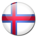 128x128px size png icon of Faroe Islands Flag