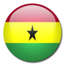 128x128px size png icon of Ghana Flag