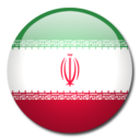 128x128px size png icon of Iran Flag