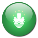 128x128px size png icon of Macau Flag