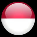 128x128px size png icon of Monaco Flag