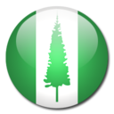 Norfolk Island Flag Icon
