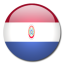 128x128px size png icon of Paraguay Flag