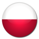 128x128px size png icon of Poland Flag