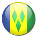 128x128px size png icon of Saint Vincent and the Grenadines Flag