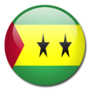 128x128px size png icon of Sao Tome and Principe Flag