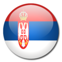 128x128px size png icon of Serbia Flag