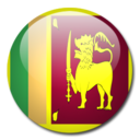 128x128px size png icon of Sri Lanka Flag
