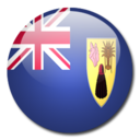 128x128px size png icon of Turks and Caicos Islands Flag