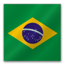 128x128px size png icon of Brasil Flag