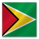 128x128px size png icon of Guyana Flag
