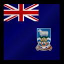 128x128px size png icon of Islas Malvinas Flag