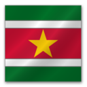 128x128px size png icon of Surinam Flag