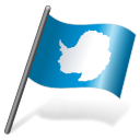 128x128px size png icon of Antarctica Flag 3