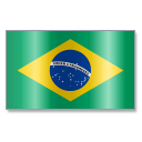 128x128px size png icon of Brazil Flag 1