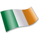 128x128px size png icon of Ireland Flag 2