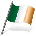 128x128px size png icon of Ireland Flag 3