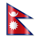 128x128px size png icon of Nepal Flag 1
