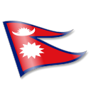 128x128px size png icon of Nepal Flag 2