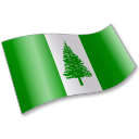 128x128px size png icon of Norfolk Island Flag 2