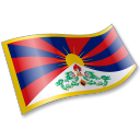 128x128px size png icon of Tibetan People Flag 2