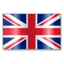 128x128px size png icon of United Kingdom Flag 1