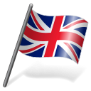 128x128px size png icon of United Kingdom Flag 3
