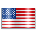 128x128px size png icon of United States Flag 1