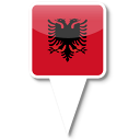 128x128px size png icon of Albania