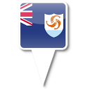 128x128px size png icon of Anguilla