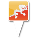 128x128px size png icon of Bhutan
