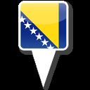 128x128px size png icon of Bosnia Herzegovina