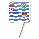 128x128px size png icon of British Indian Ocean Territ