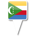 128x128px size png icon of Comoros