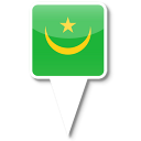 128x128px size png icon of Mauritania