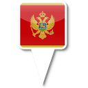 128x128px size png icon of Montenegro