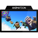 128x128px size png icon of Animation