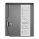 Aquave Private Folder Icon