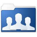 group blue Icon