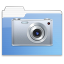 128x128px size png icon of pictures Aqua