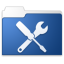 utilities blue Icon