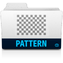 128x128px size png icon of pattern folder